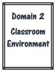 APPR Binder Domains 1-4 cover sheets