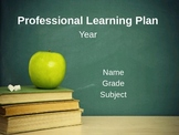 APPR Professional Learning Plan Template