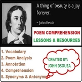 A THING OF BEAUTY BY JOHN KEATS - UNIT PLANS AND RESOURCES