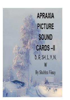 APRAXIA PICTURE SOUND CARDS-II (D,G,SH,L,Y,N,W)