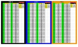 APRE Workout Sheet Converted to 1 Easy to Read Chart
