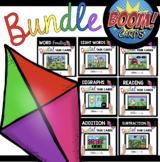 APRIL BOOM CARDS - Kindergarten Bundle - Easter Task Cards