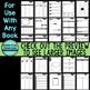 APRIL BUNDLE  Graphic Organizers for Reading  Reading Grap