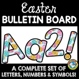 APRIL CLASSROOM DECORATION (EASTER BULLETIN BOARD LETTERS PRINTABLE)