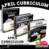 APRIL PRESCHOOL CURRICULUM MONTHLY LESSON PLANS S1