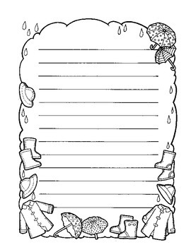 APRIL Calendar and Themed Writing Pages - FREE