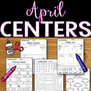 Easy Prep Centers: APRIL All Set?  You Bet!