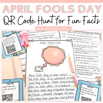 APRIL FOOLS' DAY: QR CODE HUNT