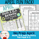 APRIL FUN - EARTH DAY - NO PREP
