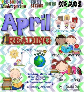 APRIL Interactive Reading Activities