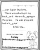 Morning Messages-Kindergarten-April