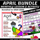 APRIL LESSON PLANS SERIES 3 AND APRIL MORNING MEETING CENT