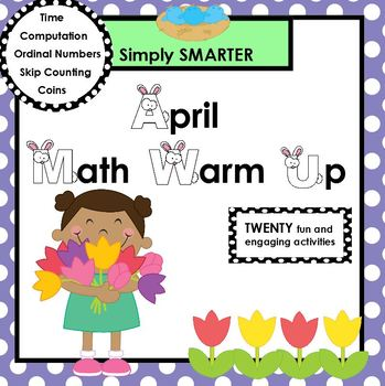 APRIL MATH WARM UP