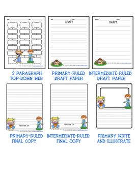 APRIL & MAY WRITING PACKET BUNDLE- 8 packets