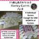 APRIL Multisyllabic Games Word Fluency Literacy Center Big Words Pack