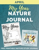 APRIL My Year Nature Journal Free Printable
