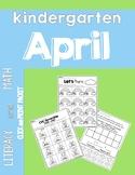 APRIL Printables: {Literacy & Math} NO PREP