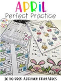 APRIL Perfect Practice for Addition