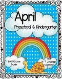 APRIL is for Preschoolers