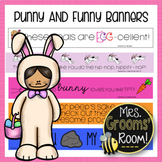 APRIL'S PUNNY AND FUNNY TPT BANNERS
