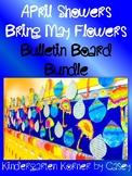 APRIL SHOWERS BRING MAY FLOWERS RAINDROP WRITING BULLETIN