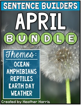 APRIL Sentence Builders BUNDLE