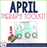 APRIL Theme Therapy for Speech and Language