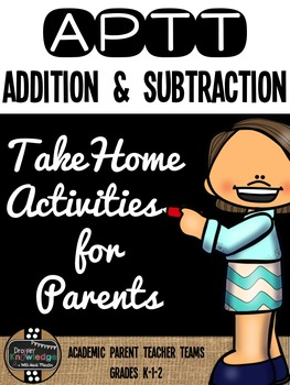 APTT Math Addition & Subtraction Parent Pack