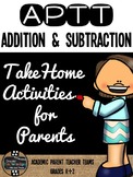 APTT Math Addition & Subtraction Parent Pack