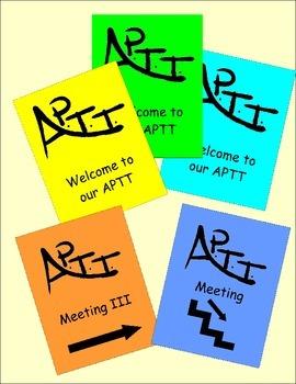 APTT Meeting Poster Signs