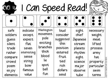 APTT Sight Word Fluency Parent Pack
