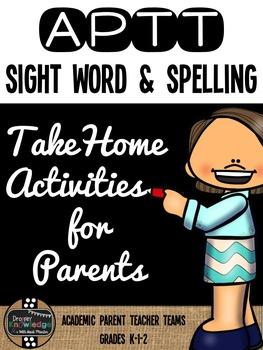 APTT Sight Words, Spelling, & Fluency Parent Pack