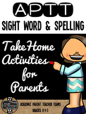 APTT Sight Words, Spelling, & Fluency Parent Pack