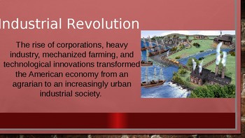 APUS Period 6 Industrialization, Urbanization, Immigration, Progressives PPT