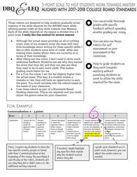 frq essay rubric