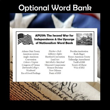 APUSH AP U.S. History Vocabulary Crossword Puzzle Bundle