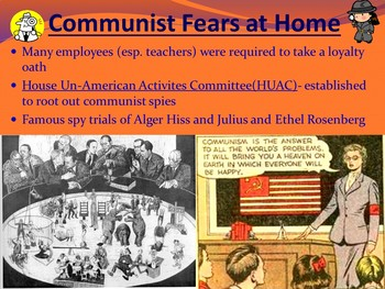 APUSH- Cold War Powerpoint Presentation and Guided Notes