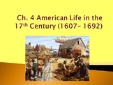 APUSH - Colonial Life Powerpoint and Guided Notes