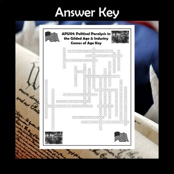 APUSH The Gilded Age & Industry Comes of Age Crossword Review