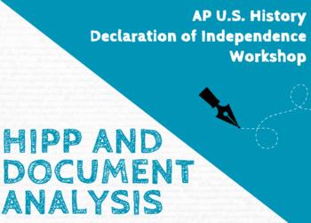APUSH Declaration of Independence Workshop