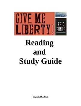 APUSH Foner Give Me Liberty Reading Guide