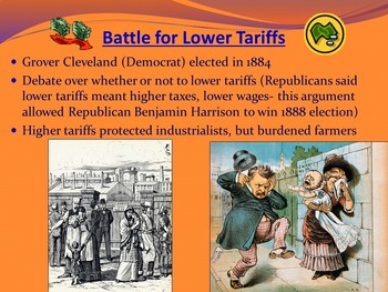 APUSH- Gilded Age Politics Powerpoint and Guided Notes