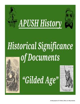APUSH - HIPPO - Gilded Age