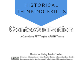 APUSH Historical Thinking Skill: Contextualization