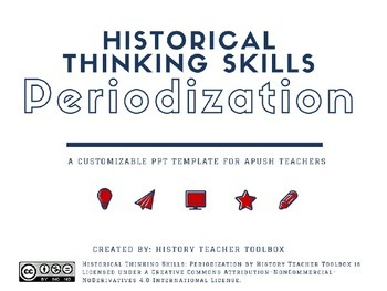 APUSH Historical Thinking Skill: Periodization