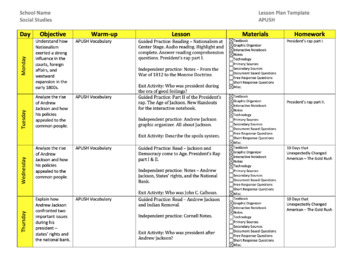 Ap U S History Lesson Plan Templates By William Pulgarin Tpt