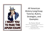 APUSH Long Essay Tutorial: French and Indian War