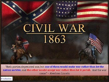 APUSH P5 - Events of the Civil War STUDENT PPT