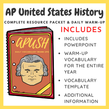 APUSH Packet and Daily Warm-Up Bundle