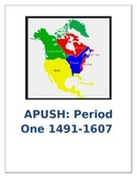 APUSH Period 1 Colonization Comparison and Short Answer Practice